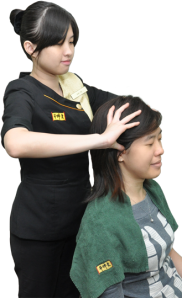 hair massage