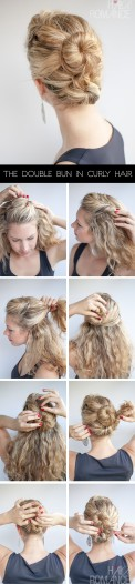 Hair-Romance-The-Double-Bun-Hair-Tutorial-in-curly-hair