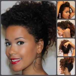 triple treat ting the best up dos from a twist out natural hair care tips